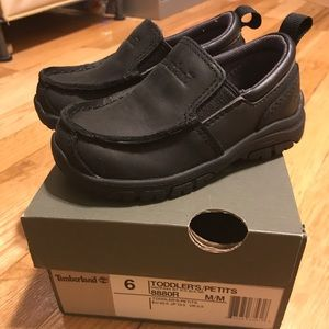 Black Timberland Loafers